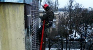 Prace na wysokościach Warszawa